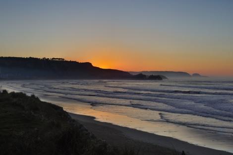 Asturias. Playa de Salinas.